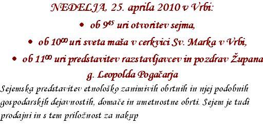 program za Marov smn 2010 - 2 del