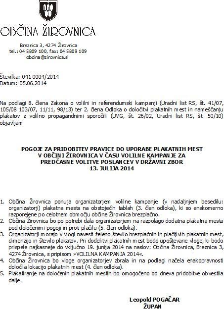 razpis plakatnih mest-2014-predasne volitve poslancev v DZ- pogoji.doc