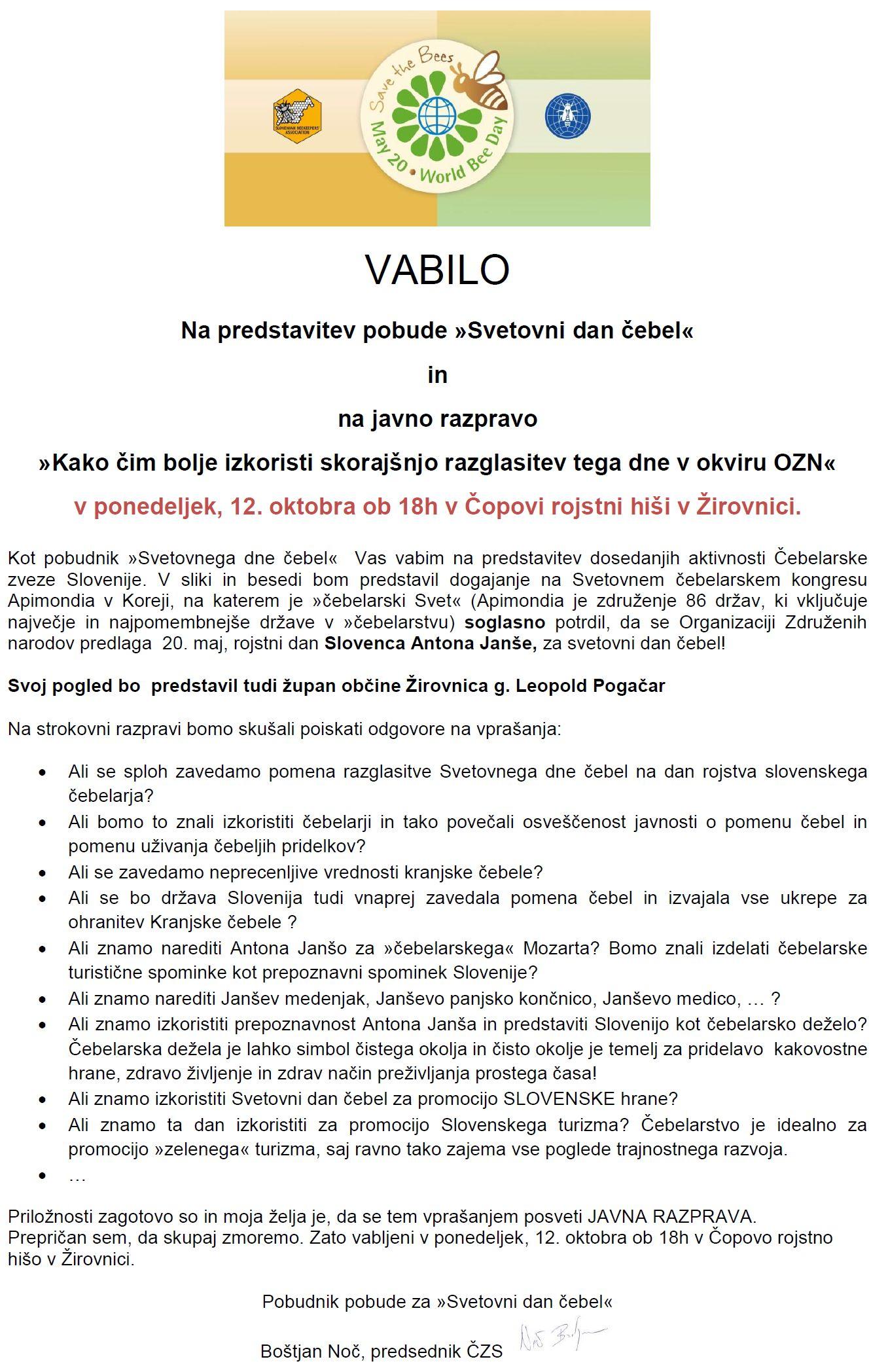 Vabilo - predstavitev pobude Svetovni dan ebel (1)