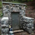 Obnovljeno vodno zajetje Ajdna in vodohran Moste
