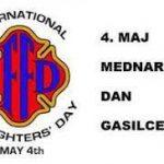 4. maj svetovni dan gasilcev - čestitka
