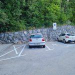 Sprememba režima parkiranja na parkirišču v Rebru v Žirovnici