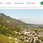 Dostopnost spletne strani Občine Žirovnica, novost - obvestilo